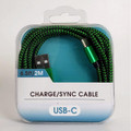 Type-C USB Charge & Sync Cable, 6.5 Feet, (Brand: OEM)