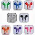 Earphone Earbud Headset Headphone Lot 100 pcs. Mix colors, With Barcode.