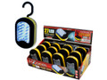 27 LED Work Light 12 Piece Display Set. Batteries included, Assorted colors.