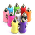 Universal USB Car Charger DC Power Adapter Mix Colors 20 pcs.