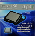 DigitZ DZ2-1KG Pocket Scale 1000g x 0.1g