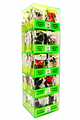Wholesale 120 PC CELL PHONE ACCESSORIES TOWER COUNTER DISPLAY.