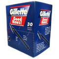 Gillette Good News Razors - Counter Display of 30ct Box.