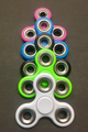 Fidget Spinner 100ct. Mix Color.