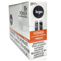 Logic Power Cartridge Tobacco 27 mg/ml 2-Ct (10/Box)
