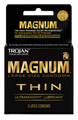 Trojan Magnum Thin Black Condoms 6 Pack, 3 Ct. Each Box.