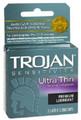 TROJAN Ultra Thin Premium Lubricant GREY -6 Pack, 3 Ct. Each Box.