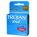TROJAN 6/3PK BLUE ARMOR--TROJAN - ENZ ARMOR SPERMICIDAL CONDOMS 3CT - 6PC