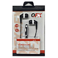 QFX EARPHONES H-55 W/Mic Black