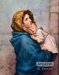 Madonna of the Streets - Oil Painting Reproduction - Art Print