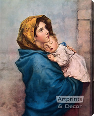 Madonna of the Streets - Oil Painting Reproduction - Stretched Canvas Art Print