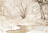 Winter Stream by Walter Launt Palmer - Art Print