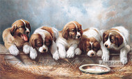 Where Is Mother - Oil Painting Reproduction - Art Print