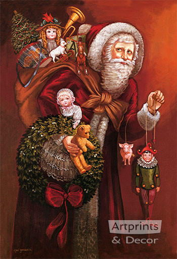 Christmas Past by Gre Gerardi - Art Print