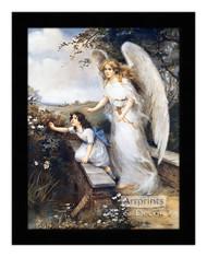 Guardian Angel of the Bridge II - Framed Art Print