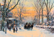 Home Coming by Frank F. English - Art Print