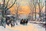 Home Coming by Frank F. English - Stretched Canvas Art Print