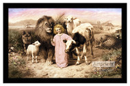 A Little Child Shall Lead Them - Framed Art Print