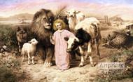 A Little Child Shall Lead Them by William Strutt - Art Print