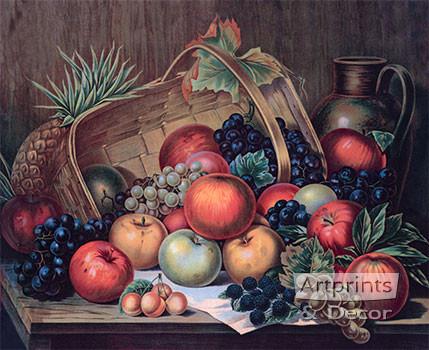 Assorted Fruits - Art Print