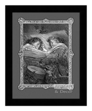 A Dream of Toys - Framed Art Print