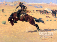 A Cold Morning On The Range by Frederick Remington - Art Print