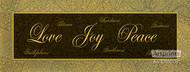 Love Joy Peace - Art Print