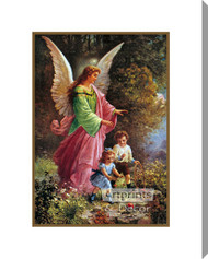 Guardian Angel - Stretched Canvas Art Print