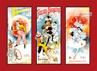 Folies-Bergere by Maurice Millieres - Art Print