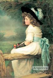 A Daughter of Eve - Art Print