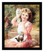 My Best Friends, Kittens - Framed Art Print