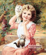 My Best Friends, Kittens - Art Print