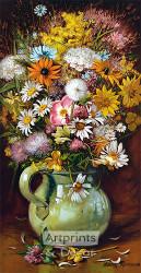 Wildflowers by Harry Roseland - Art Print