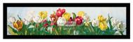 A Shower of Tulips - Framed Art Print