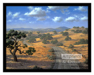Country Road - Framed Art Print