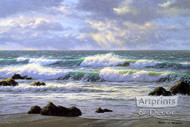 Emerald Tide by Robert Richert - Art Print