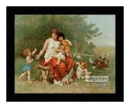 The Children of Eve - Framed Art Print