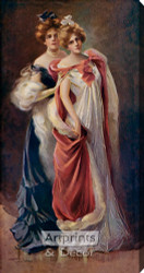 Dressed for the Ball by Philip Boileau - Stretched Canvas Art Print