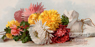 Fall Beauties by Paul de Longpre - Art Print