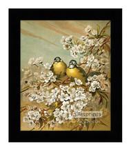 Springtime by Hector Giacomelli - Framed Art Print
