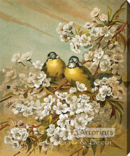 Springtime by Hector Giacomelli - Stretched Canvas Art Print