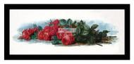 American Beauty Roses - Framed Art Print