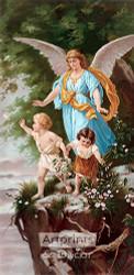 The Protecting Angel - Art Print