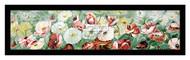 Poppies - Yard Long - Framed Art Print