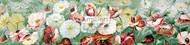 Poppies - Yard Long by S. Clarkson - Art Print