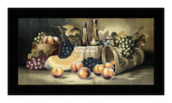 Fruit & Wine by Harry Hadland - Framed Art Print