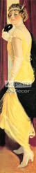 Pabst Brewing Parlor Girl by Frank H. Desch - Art Print