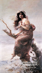 Winter by Edouard Bisson - Art Print