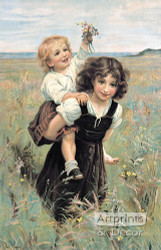 Happy Times by Frederick Morgan - Art Print
