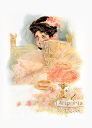 The Girl For A Supper by Henry Hutt - Art Print